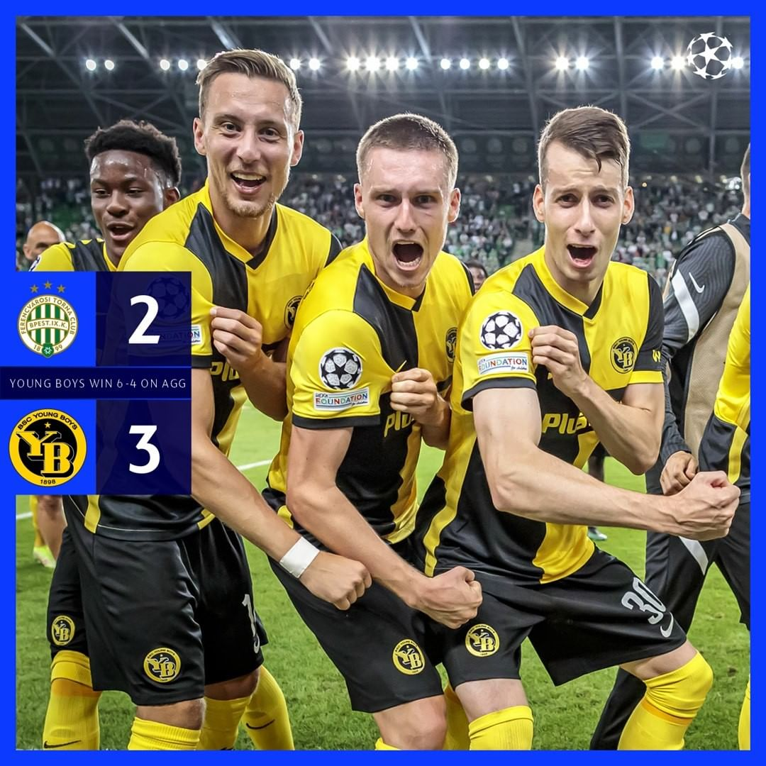 Champions of Switzerland into  group stage for the second time!...
