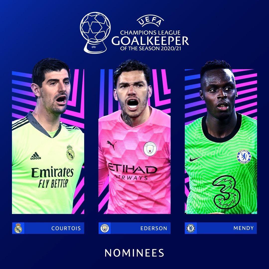 Who would you choose?  NOMINEES: 2020/21  Goalkeeper of the Season              ...