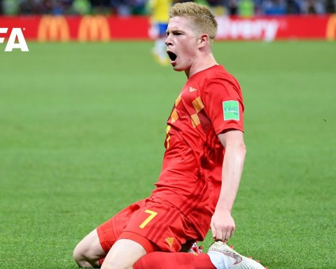 Kevin De Bruyne goal vs Brazil | ALL THE ANGLES | 2018 FIFA World Cup