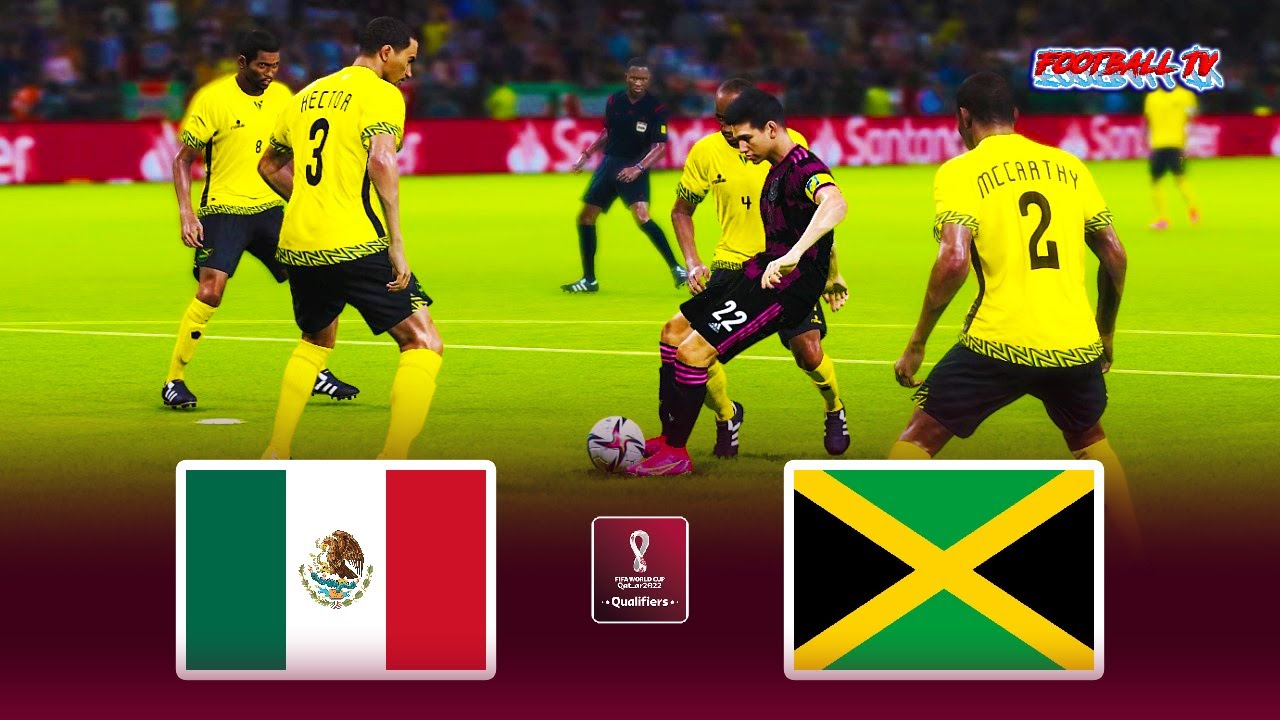 Mexico vs Jamaica   FIFA World Cup 2022 Qualification   Match eFootball PES 2021