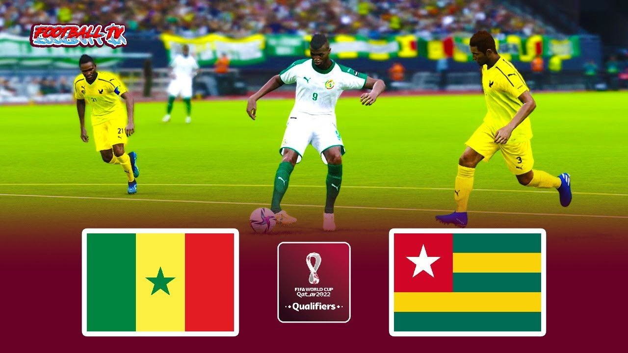 PES 2021 | Senegal vs Togo | FIFA World Cup 2022 Qualifiers | Full Match | eFootball Gameplay