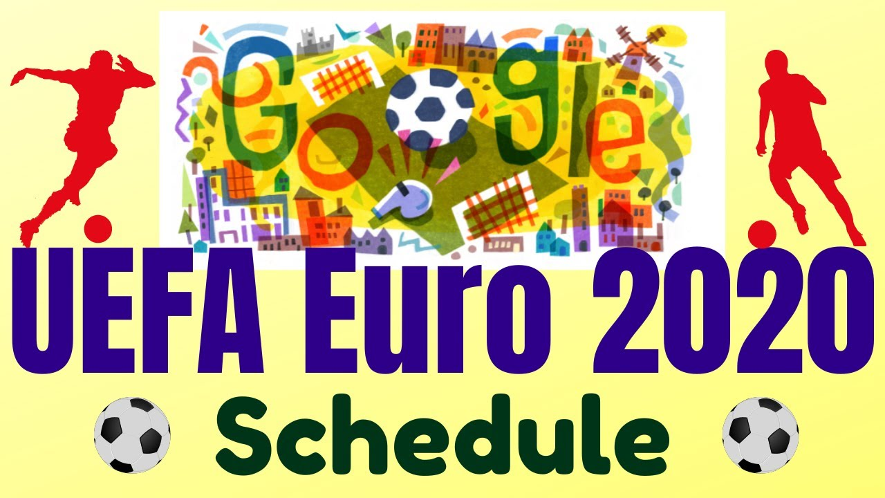 UEFA Euro 2020 - All You Need to Know | UEFA Euro 2020 Schedule | Google Doodle