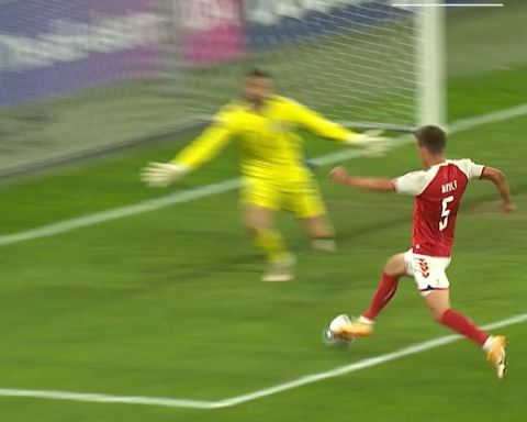 What did you enjoy most about this goal? Build-up, one-two, finish...    Joakim...