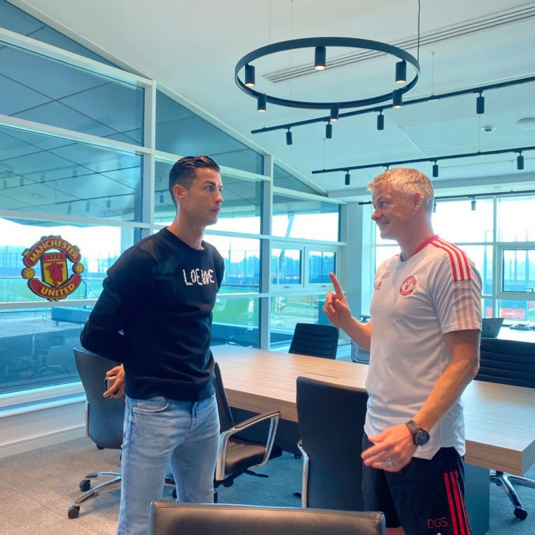 Cristiano Ronaldo back at Carrington. How excited are you by his return?    ...