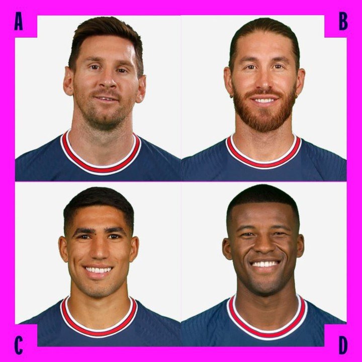 Paris outfield summer signings! Who ya got  A) Lionel Messi B) Sergio Ramos C) ...