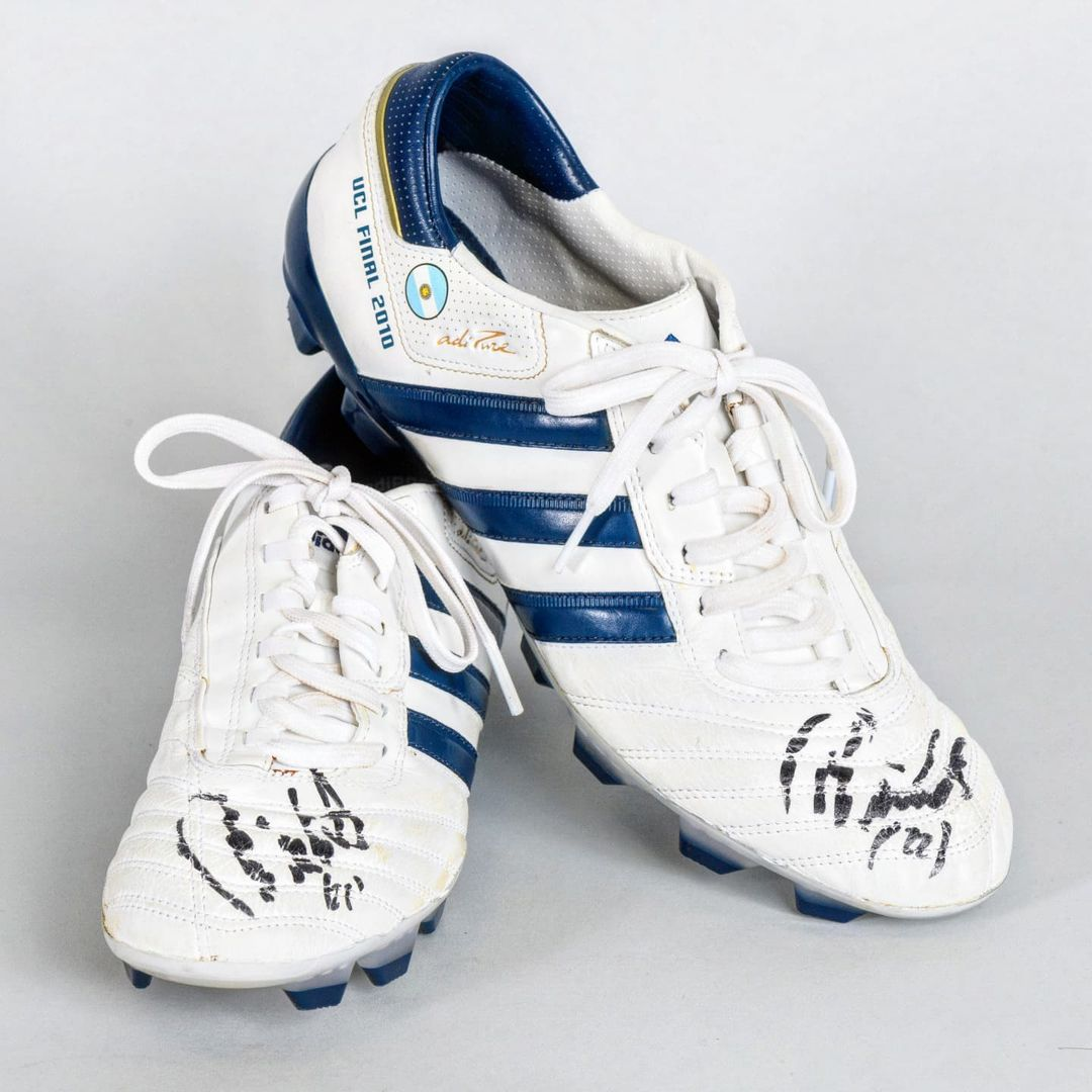 Who wore these boots?   ...