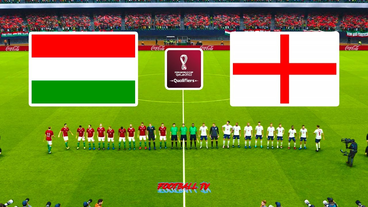Hungary vs England | FIFA World Cup 2022 Qualification | Full Match eFootball PES 2021