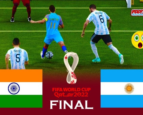 India vs Argentina | FIFA World Cup 2022 Final | Match eFootball PES 2021