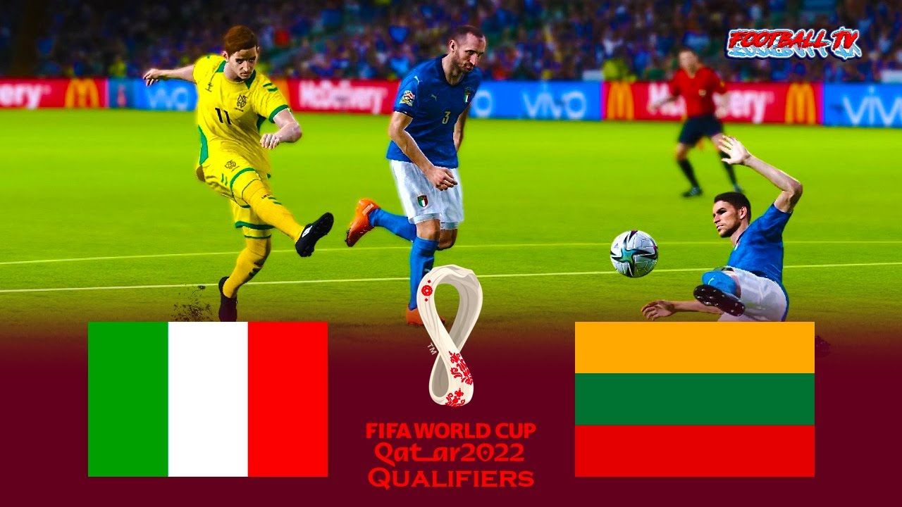 PES 2021   Italy vs Lithuania   FIFA World Cup 2022 Qualifiers   Match eFootball