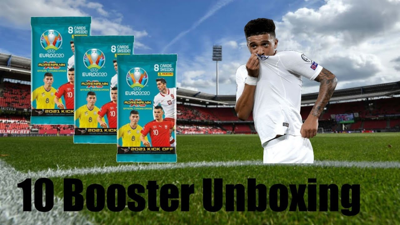 Panini Adrenalyn XL Uefa Euro 2020-2021 Kick Off Edition|?10 Booster Unboxing?!