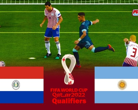 Paraguay vs Argentina - FIFA World Cup 2022 Qualifiers - Match eFootball PES 2021