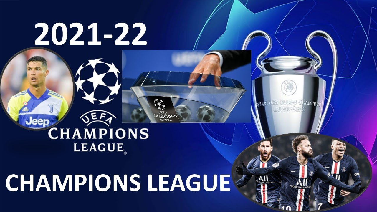 UEFA Champions League Draw 2021-22 - Group Stage Draw Live