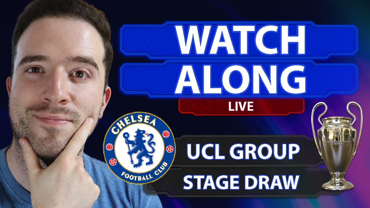 UEFA Champions League Group Stage Draw LIVE WATCHALONG