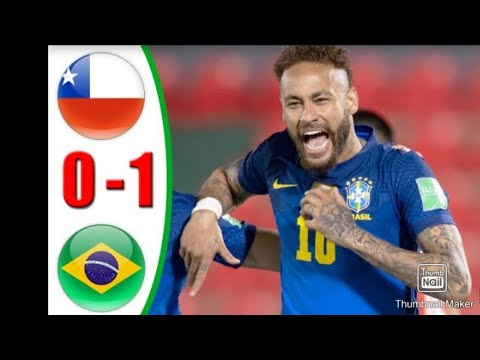 World Cup qualifier match || Brazil vs Chile || World Cup 2022