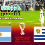 Argentina vs Uruguay - FIFA World Cup 2022 Qualifiers - Match eFootball PES 2021