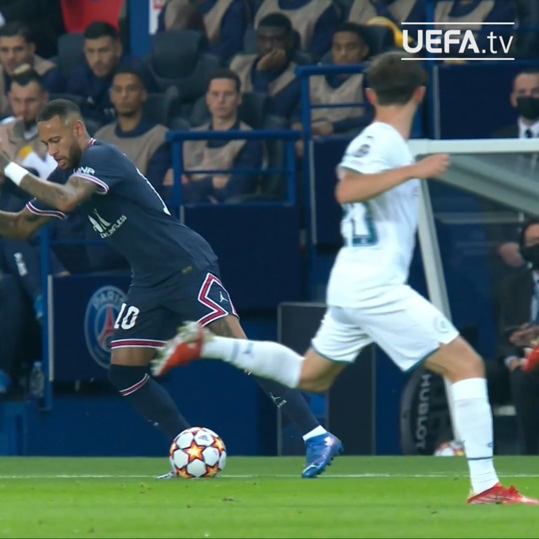 Neymar attempting the outrageous...   ...