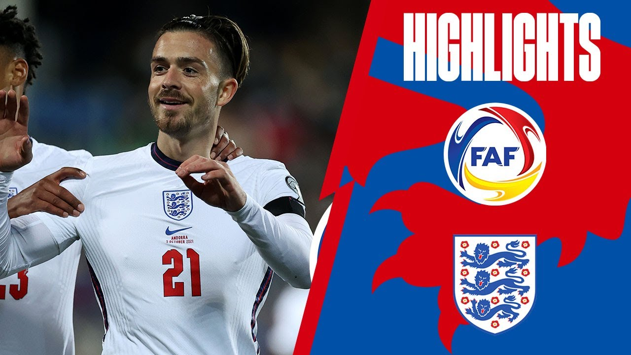 Andorra 0-5 England | Clinical Three Lions Score Five | World Cup 2022 Qualifiers | Highlights