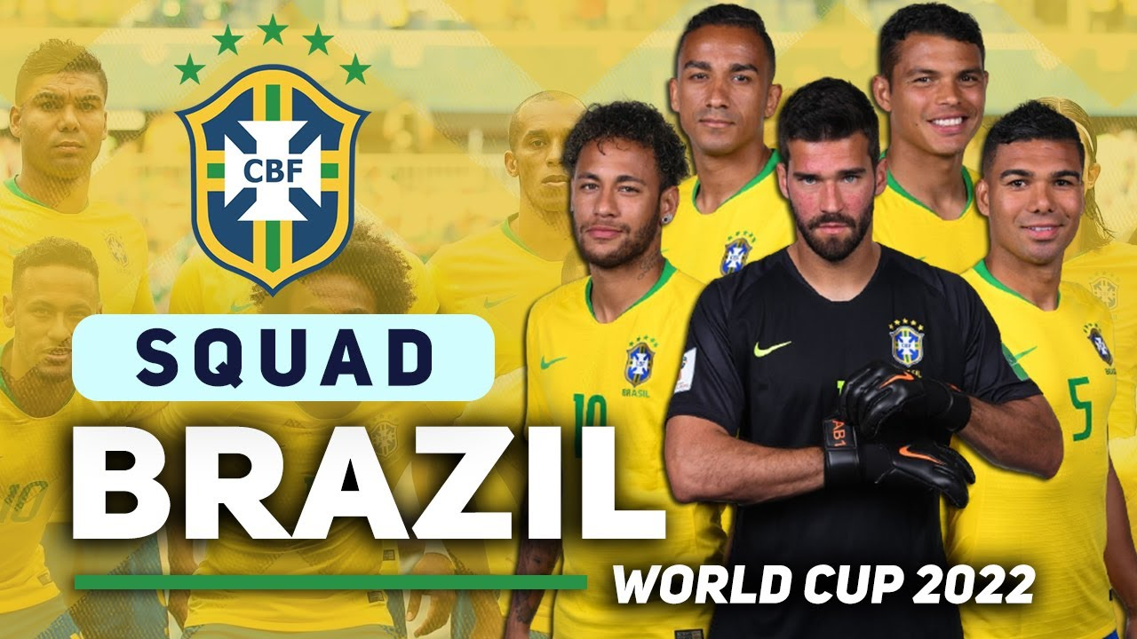 BRAZIL 25 MAN SQUAD FIFA WORLD CUP 2022 QUALIFIER | OCTOBER MATCHES