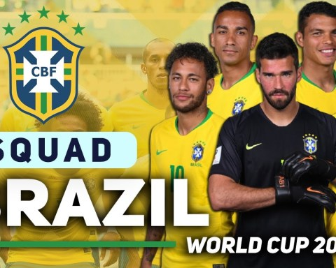 BRAZIL 25 MAN SQUAD FIFA WORLD CUP 2022 QUALIFIER   OCTOBER MATCHES