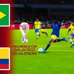 Brazil vs Colombia | FIFA World Cup 2022 Qualifiers | Match eFootball PES 2021 | Gameplay PC