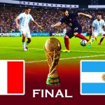 FRANCE vs ARGENTINA   Final FIFA World Cup 2022   Match eFootball PES 2021 Gameplay PC