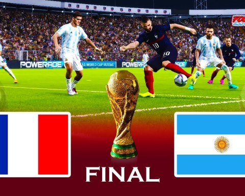 FRANCE vs ARGENTINA | Final FIFA World Cup 2022 | Match eFootball PES 2021 Gameplay PC