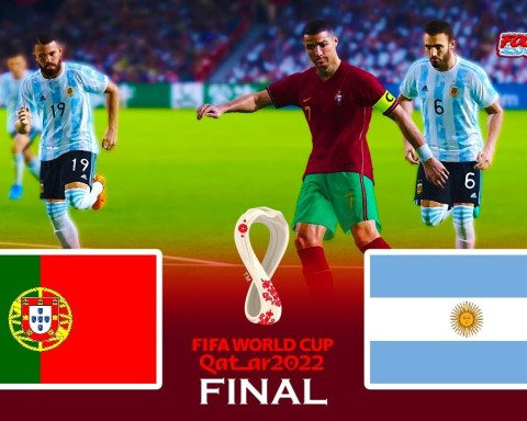Final Portugal vs Argentina - FIFA World Cup 2022 - Match eFootball PES 2021 - Gameplay PC