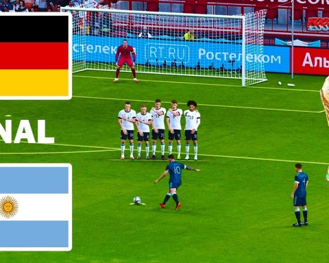GERMANY vs ARGENTINA | FIFA World Cup 2022 Final | Match eFootball PES 2021 | Gameplay PC
