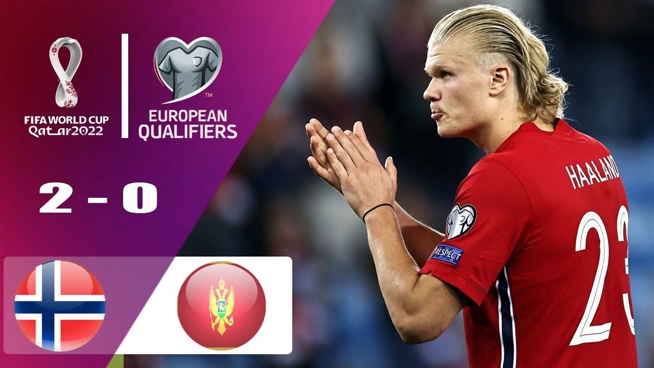 Norway vs Montenegro 2-0  | UEFA Qualifier FIFA World Cup 2022 | Match Highlights