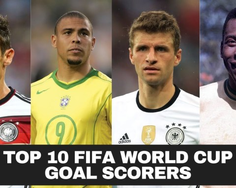 Top 10 FIFA World Cup Goal Scorers Of All Time | Most Goals In FIFA World Cup