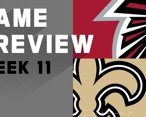 Atlanta Falcons vs. New Orleans Saints   NFL Week 11 Game Preview