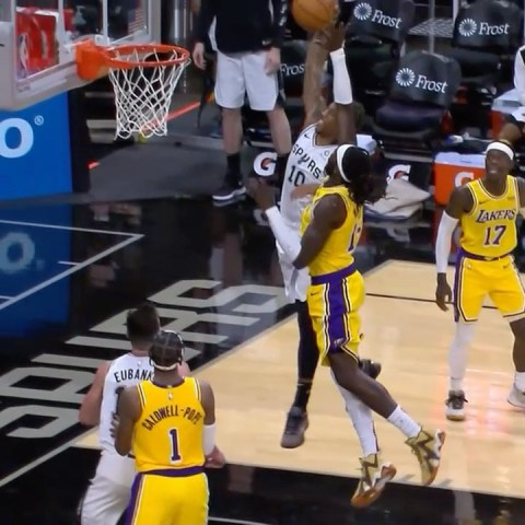 BEST DUNKS with the    : LAKERS/SPURS 8:00pm/et : NBA TV...