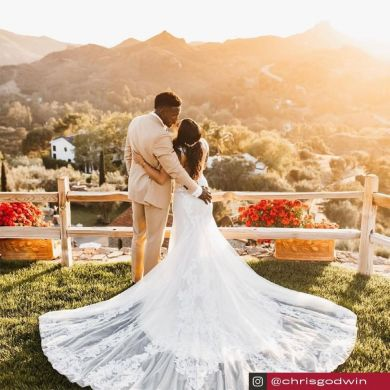 Congratulations on getting married, Chris and Mariah! ...