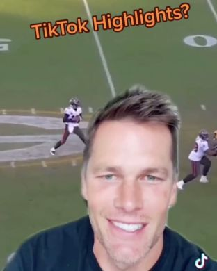 Tom learned how to use the green screen.  (Via ...