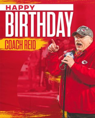 Happy birthday, Coach ...