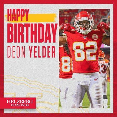 Happy birthday, Deon ...