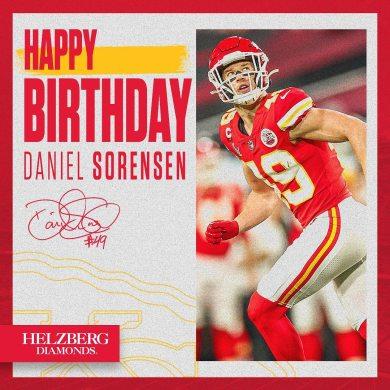 It's Dirty Dan's birthday ...