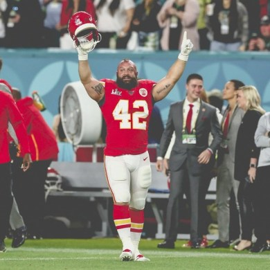 There is no run to immortality without Anthony Sherman!...
