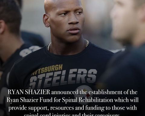 Ryan Shazier has started a foundation dedicated to helping others with spinal co...