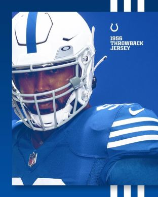 The Colts are bringing back their 1956 throwback uniforms  (via ...