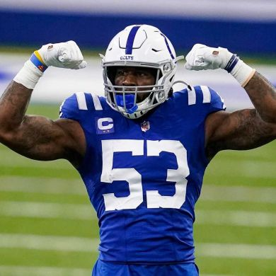 The MANIAC.  Since entering the league in 2018,  leads all LBs in sacks and forc...