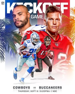 Week 1 starts in Tampa Bay.   :  -- TONIGHT 8pm ET on ...