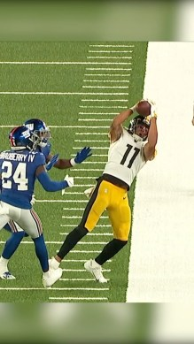 big rookie year started with this catch.  Predictions for his Sophomore season?...
