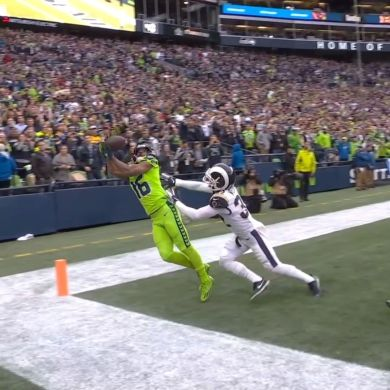 has never dropped an end-zone target in his career. Some of these grabs are jus...