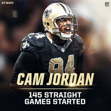 hasn't missed a start since the 2011 season  (h/t ...