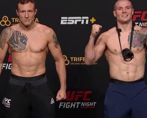 Two of the best in the ! Our middleweight main event is a day away.   [ Tomorrow...