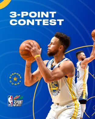 S T 3& P H  For the seventh time in his career,  will participate in the 3-Point...