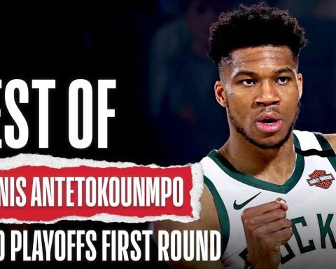 Best Of Giannis Antetokounmpo | 2020 NBA Playoffs First Round