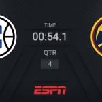 Clippers @ Nuggets | NBA on ESPN Live Scoreboard | #WholeNewGame