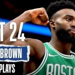 Jaylen Brown's 24 BEST Plays | #NBABDAY ?